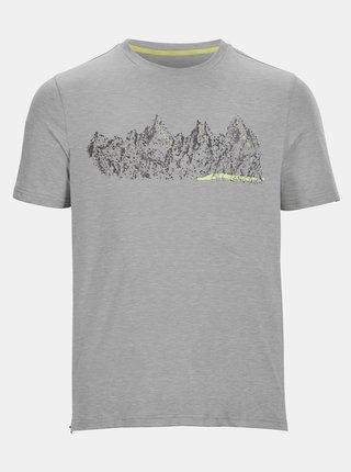 Šedé pánske tričko s potlačou killtec