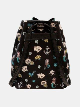 Modrý vzorovaný batoh Santoro