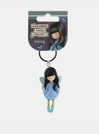 Modrý prívesok na kľúče Santoro