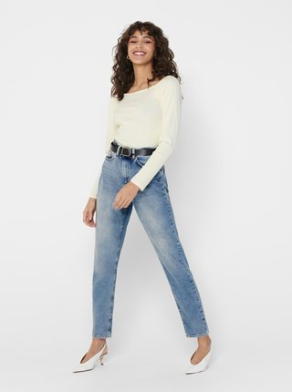 Modré mom džíny ONLY Veneda