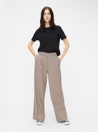 Čierny basic crop top Pieces Rina