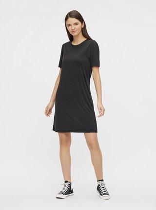 Černé šaty Pieces Kamala