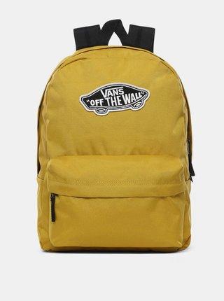 Vans REALM OLIVE OIL batoh do školy - žlutá