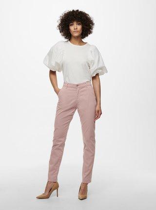 Růžové zkrácené kalhoty Jacqueline de Yong Dakota