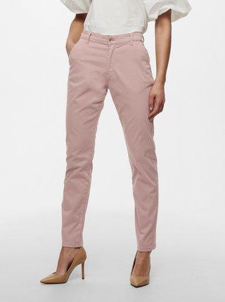 Ružové skrátené nohavice Jacqueline de Yong Dakota