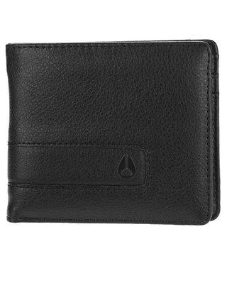 Nixon SHOWTIME BI-FOLD ALLBLACK pánská značková peněženka - černá