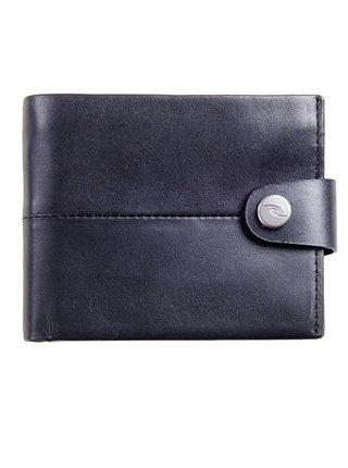 Rip Curl SNAP CLIP RFID 2 IN  black pánská značková peněženka - černá