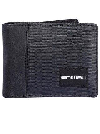 Animal TONQUIN black pánská značková peněženka - černá