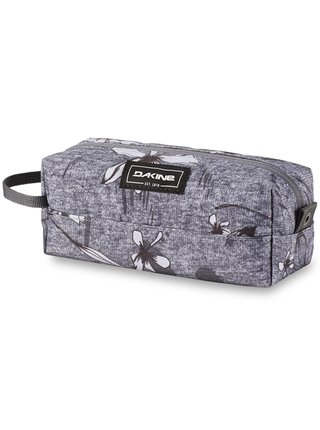 Dakine ACCESSORY CASE CRESCENT FLORAL penál do školy - šedá