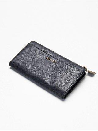 Rip Curl LUNA ZIP AROUND black dámská značková peněženka - černá