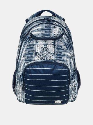 Roxy SHADOW SWELL DRESS BLUES CHIEF PRADO batoh do školy - modrá
