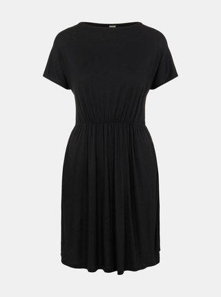 Černé šaty Pieces Petrine