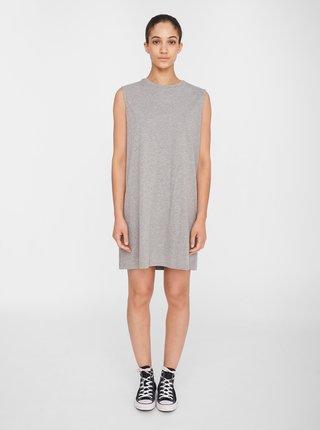 Světle šedé šaty Noisy May Mayden