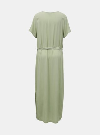 Ichi zelené maxi šaty Ihmarrakech