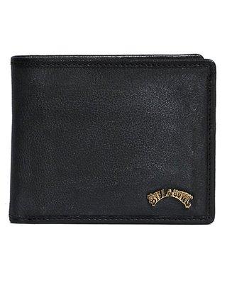 Billabong ARCH ID LEATHER black pánská značková peněženka - černá