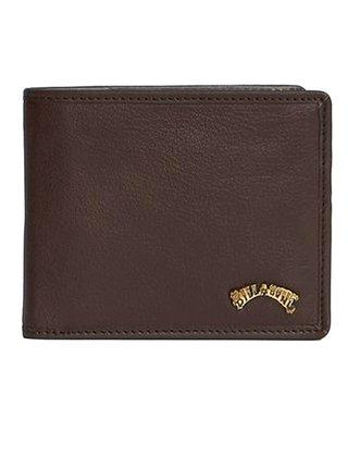 Billabong ARCH ID LEATHER CHOCOLATE pánská značková peněženka - hnědá