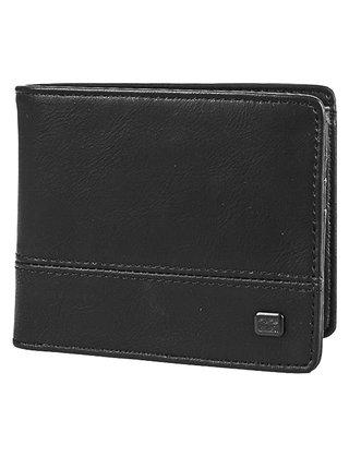 Billabong DIMENSION BLACK GRAIN pánská značková peněženka - černá