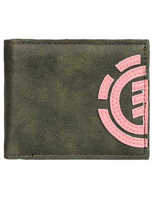 Element DAILY forest night pánská značková peněženka - zelená