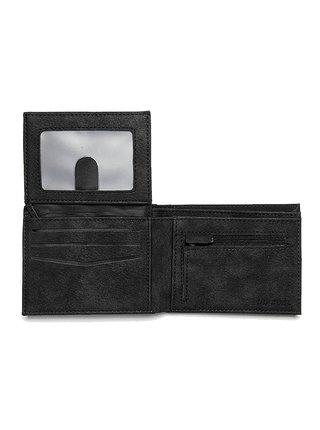 Rip Curl CONTRAST RFID PU ALL black pánská značková peněženka - černá