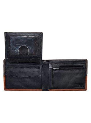Rip Curl STRINGER RFID ALL DA brown pánská značková peněženka - černá