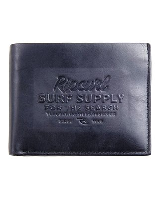Rip Curl SURF SUPPLY RFID 2 I black pánská značková peněženka - černá