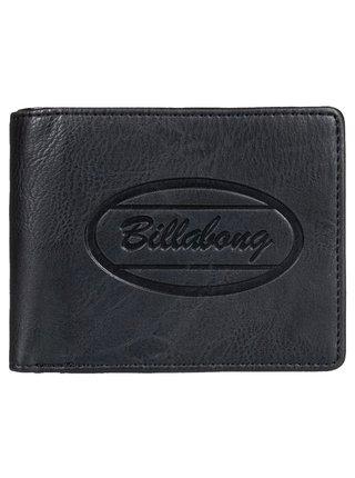 Billabong WALLED ID black pánská značková peněženka - černá