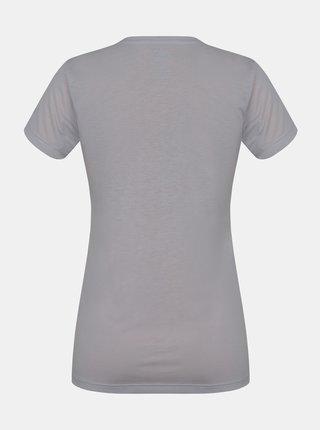 Šedé dámske tričko s potlačou Hannah