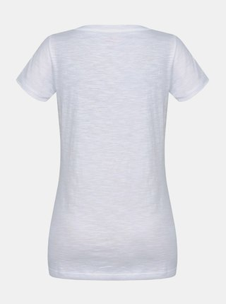 Biele dámske tričko s potlačou Hannah