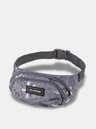 Dakine HIP PACK CRESCENT FLORAL pánské běžecká ledvinka - šedá