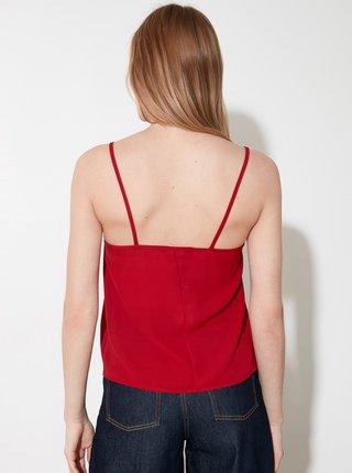 Červený top Trendyol