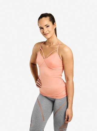 Tílko Better Bodies Waverly Strap Peach