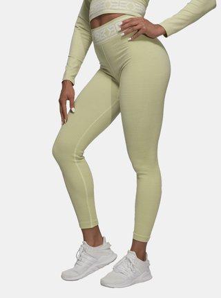 Legíny Better Bodies Rib Seamless Mellow Green Melange