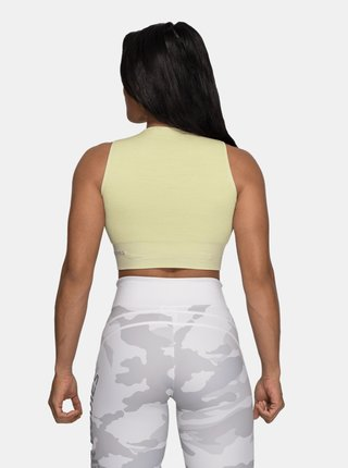 Better Bodies Top Rib Seamless Mellow Green Melange