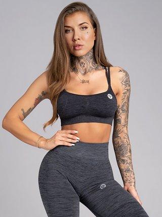 Podprsenka Gym Glamour Seamless Grey Melange