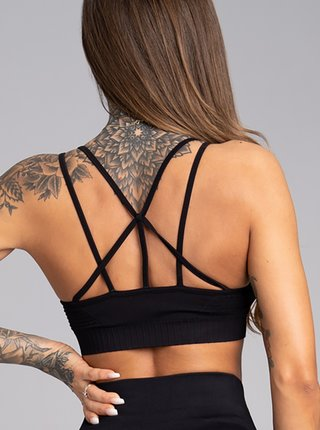 Podprsenka Gym Glamour Seamless Black