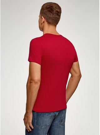 Tričko bavlněné s potiskem OODJI