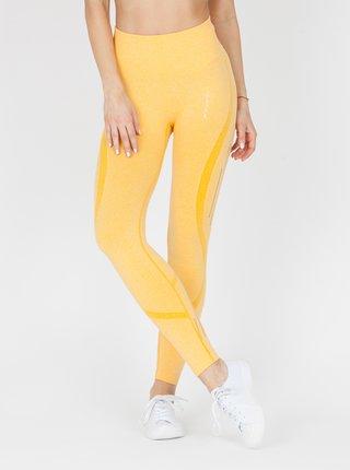 Legíny Naine 4.0. Bezešvé Stripes - Yellow