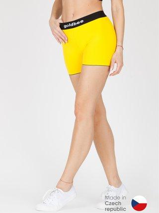 kraťásky GoldBee BeCat Yellow