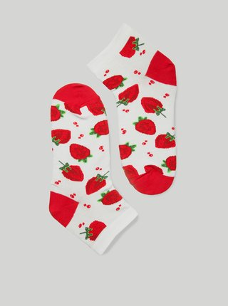 Ponožky GoldBee BeSox Strawberry