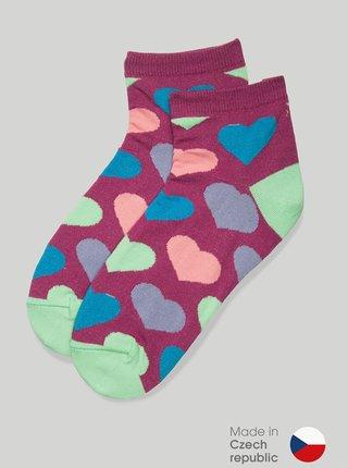 Ponožky GoldBee BeSox Heart