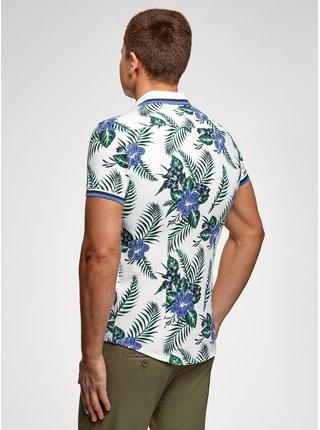 Košile s potiskem s krátkým rukávem OODJI
