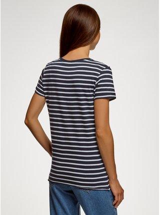 Tričko bavlněné s nápisem OODJI