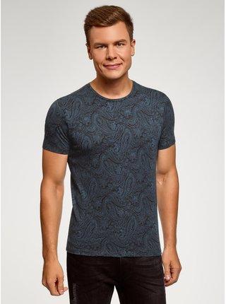 Tričko s potlačou s krátkym rukávom OODJI
