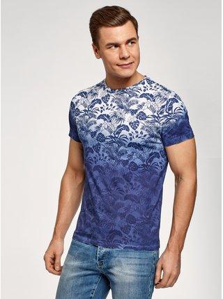 Tričko s potlačou bavlnené OODJI