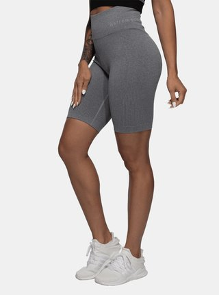 Kraťásky Better Bodies Rib Seamless Grey Melange
