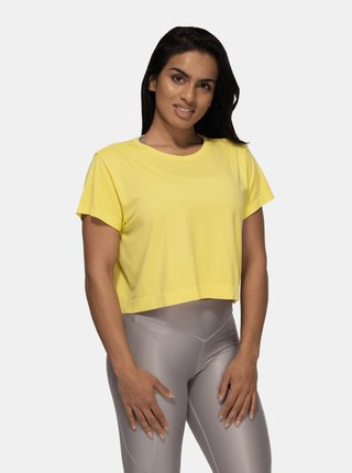 Tričko Better Bodies Rockaway Seamless Lemon Yellow