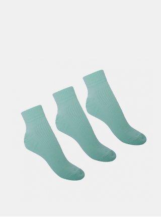 3PACK ponožky Voxx mentolová