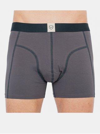 Pánské boxerky A-dam šedé