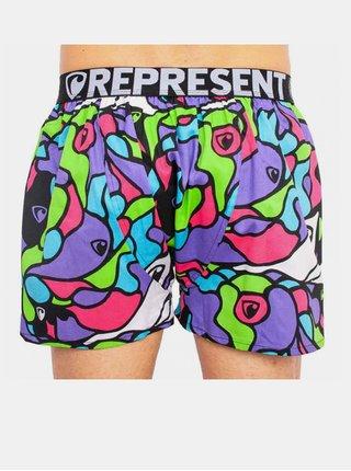 Pánské trenky Represent exclusive Mike hippie fialové