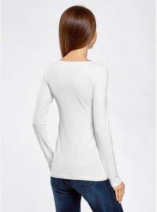 Tričko s dlhým rukávom OODJI